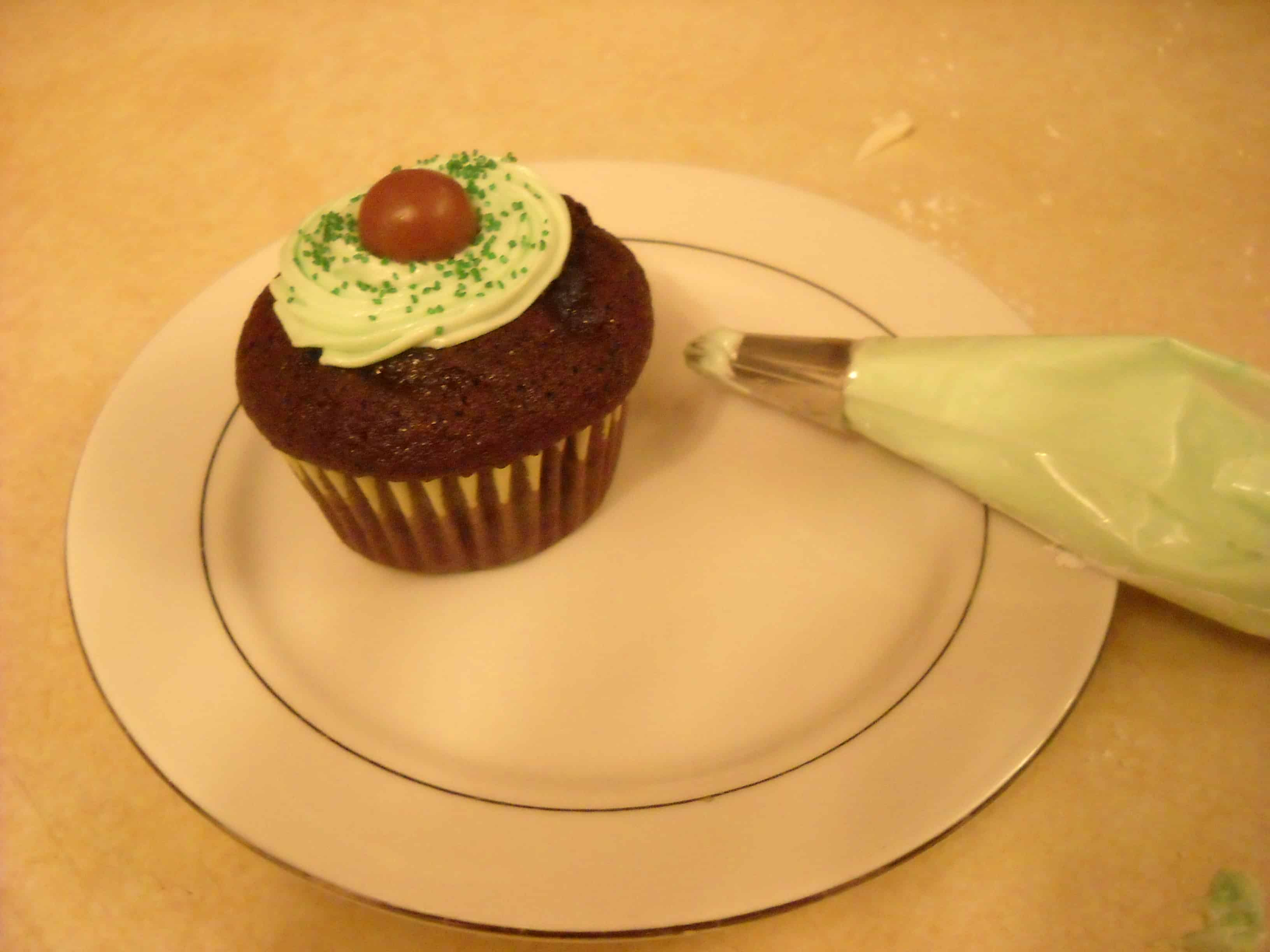 Chocolate Mint Cupcakes Recipe