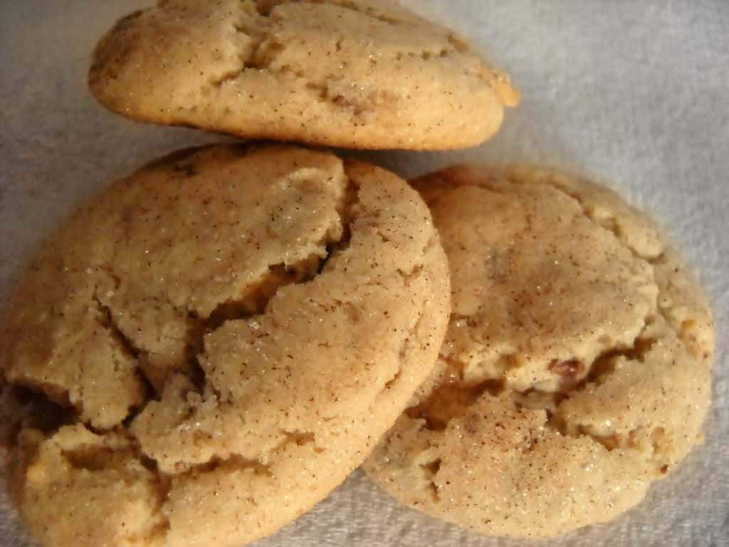 Toffee Snickerdoodle Cookies