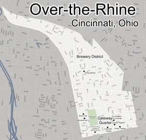 Over-the-rhine-map