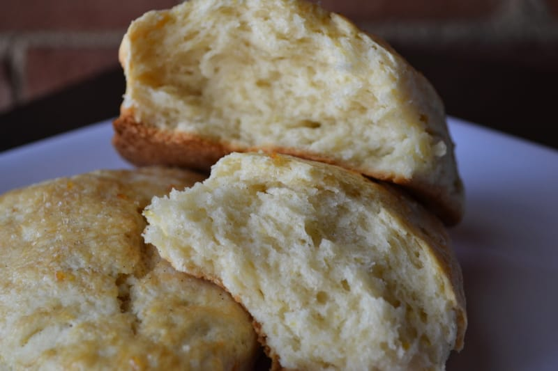 Orange & Vanilla Bean Scones