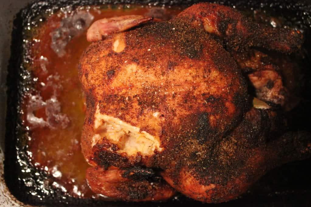 Blackened Cornish Hen