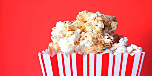 Rice Krispie Treat Popcorn