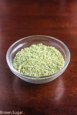 How to Make Basil Salt