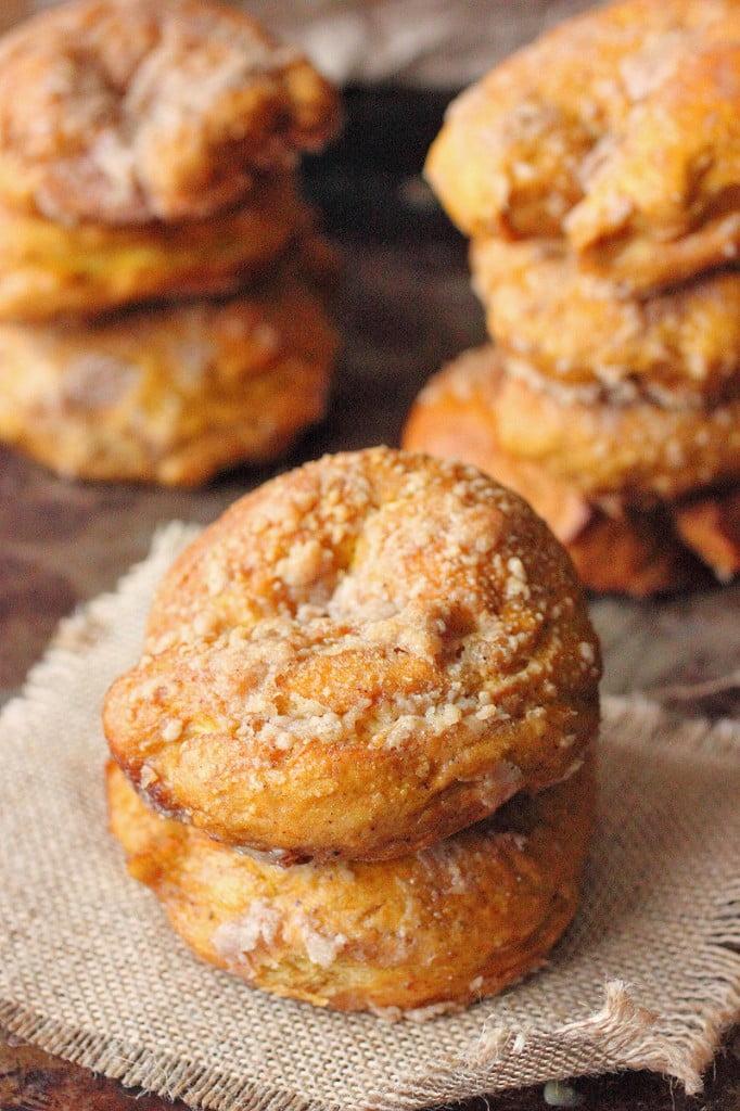 Pumpkin Crunch Bagels