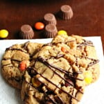 Peanut Butter Reese's Cookies