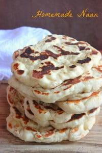 Homemade Naan