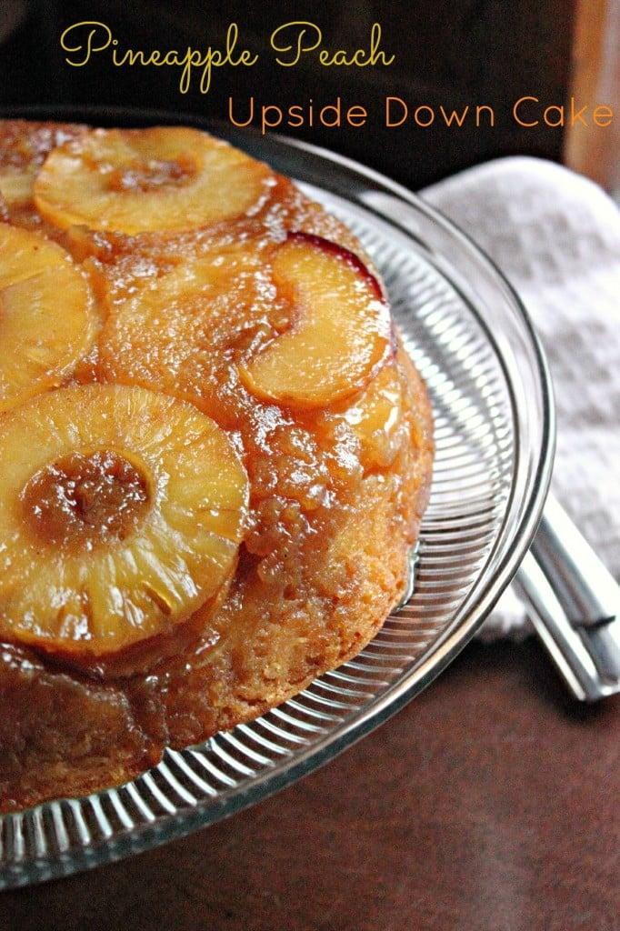 Pineapple PEach Cake