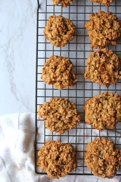 Skinny Girl Cookies (Healthy Oatmeal Cookies)