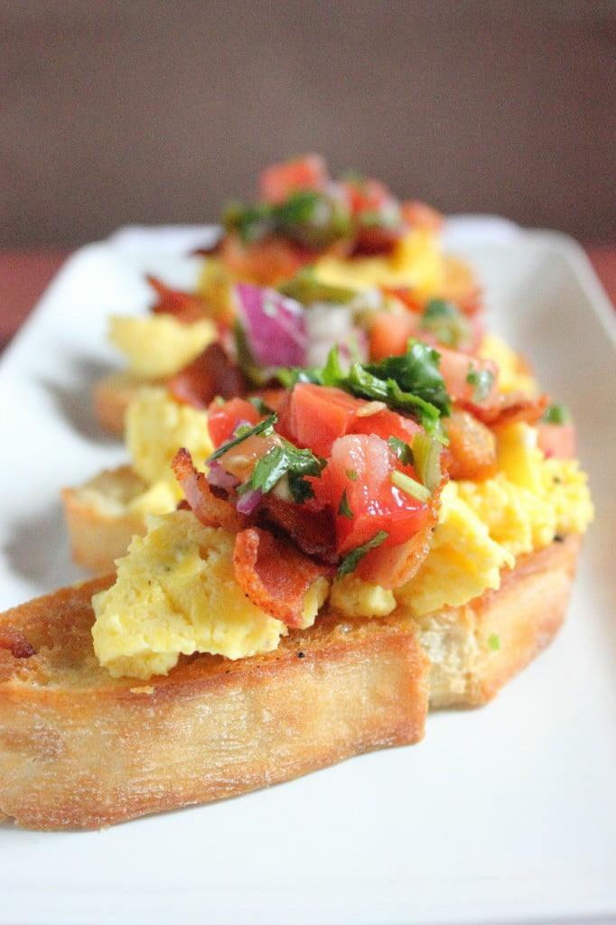 Breakfast Crostini