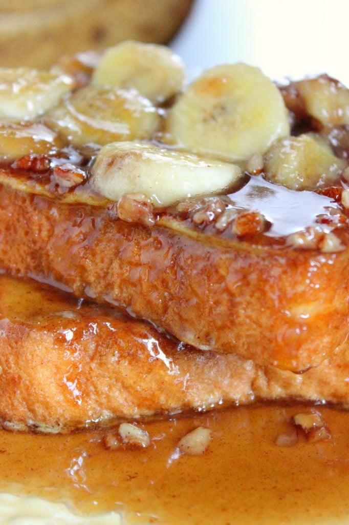 Banan Pecan French Toast
