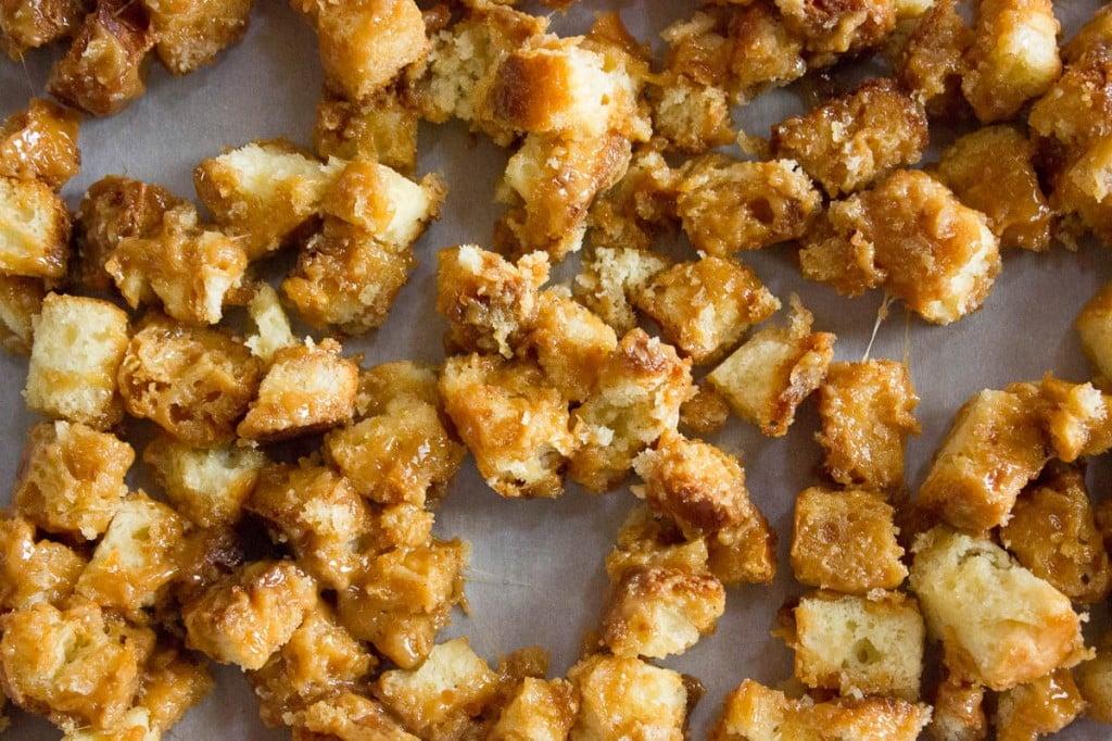 Caramel Dessert Croutons