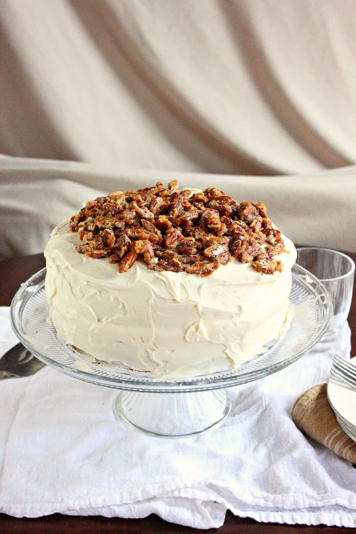 is a great southern inspired cake with flavors of Bourbon, Pralines ...