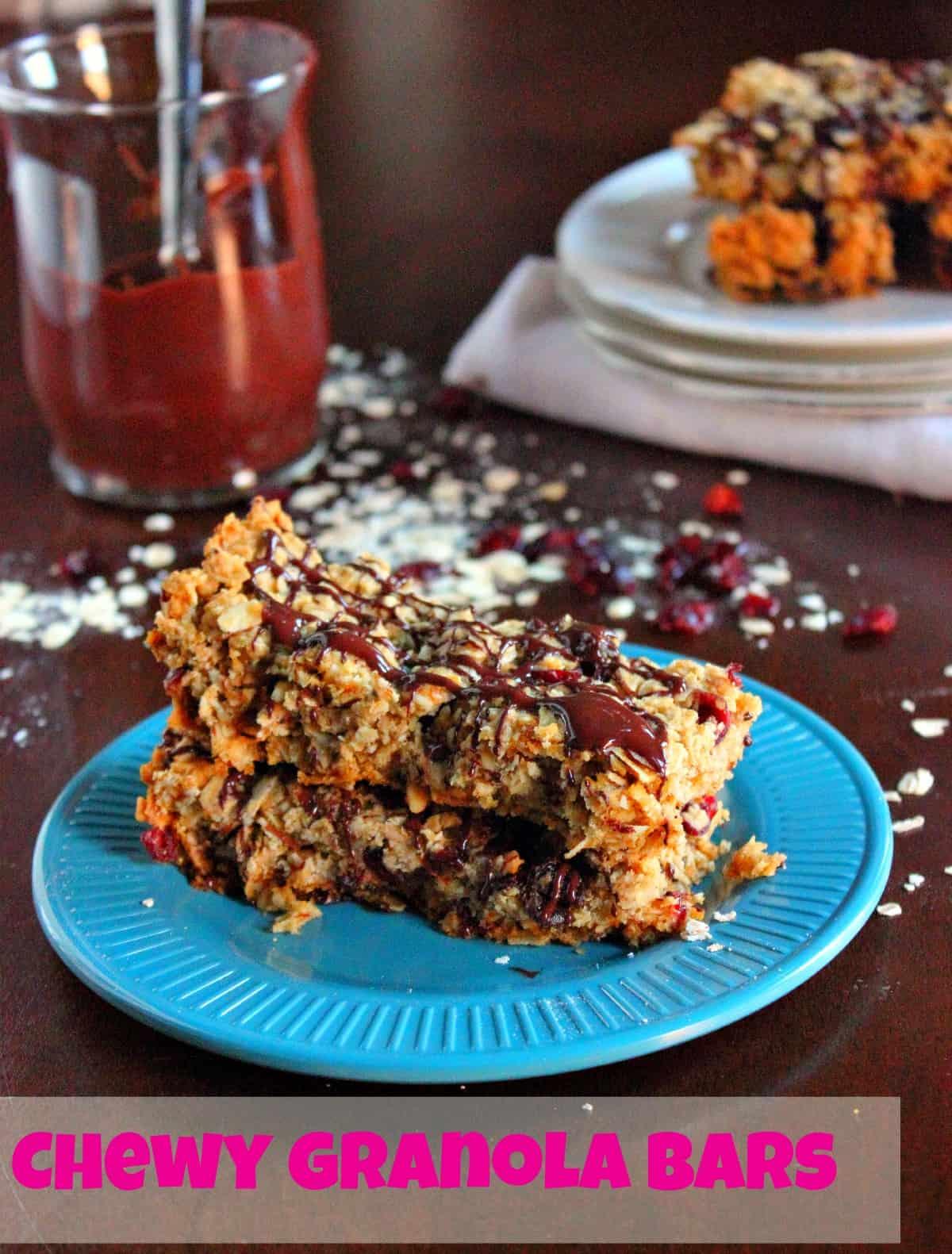 chewy-granola-bars | Brown Sugar