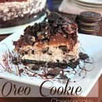 Non-Bake Oreo Cheesecake