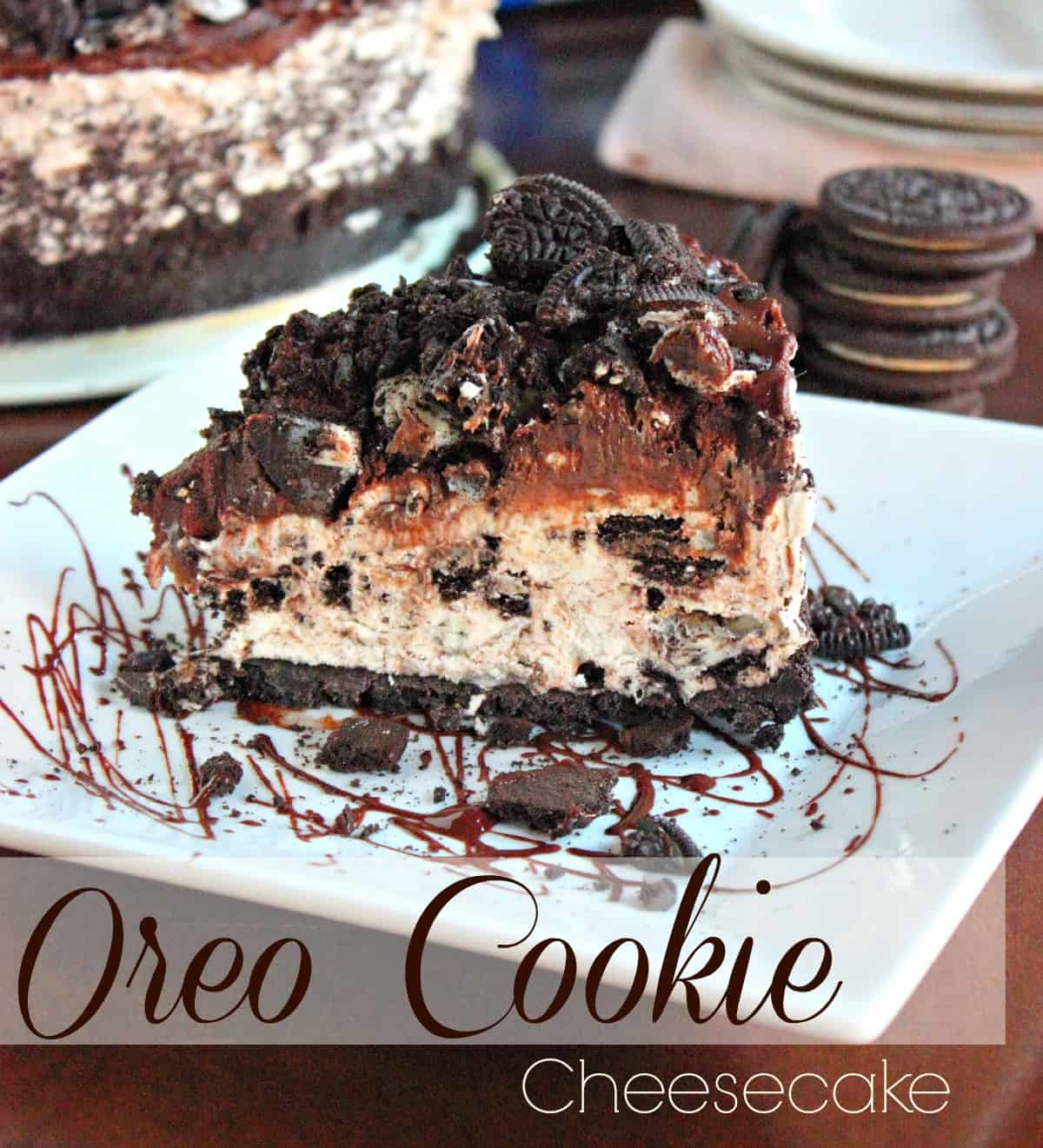 Non Bake Oreo Cheesecake