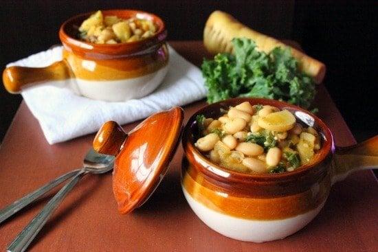 Cannellini Bean & Kale Soup