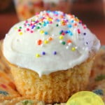 Vegan Cupcakes with Sprinkles