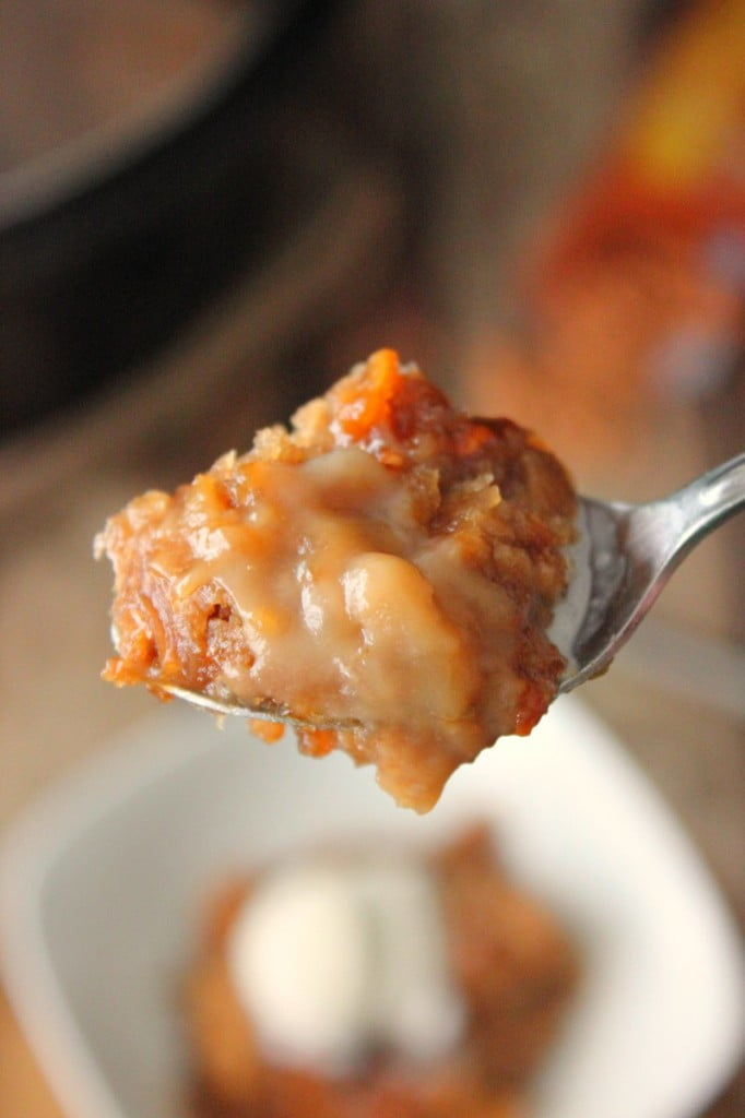 Caramel Butterscotch Crock Pot Cake