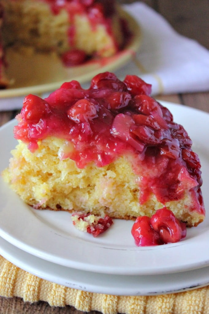 Cherry Cake Filling With Frozen Cherries