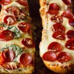 Easy French Bread Pizza Recipe