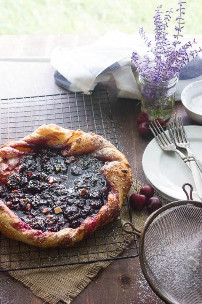 Sour Cherry Crostada