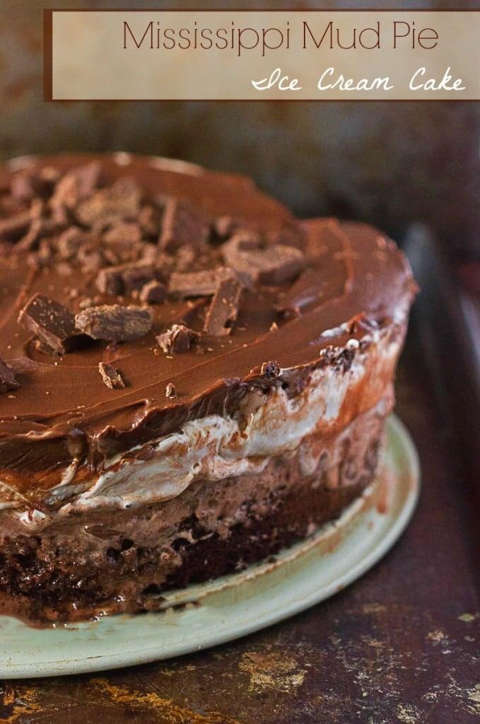 Mississippi Mud Pie Ice Cream Cake Brown Sugar