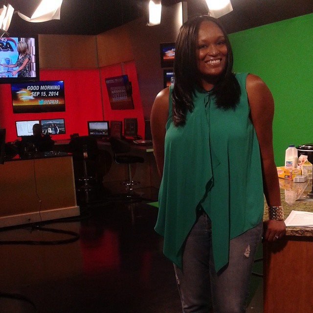 I just did my first TV segment on Fox 19. I'm so freaking excited.  God is wonderful! #fox #fox19 #blessed #fblogger #foodie #foodblogger #omg