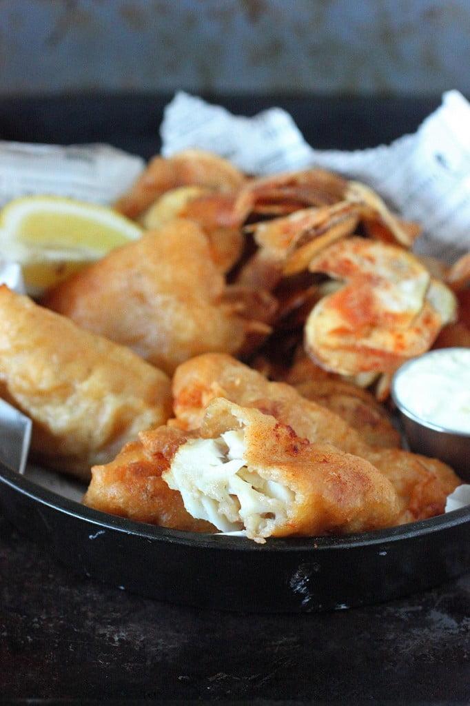 Beer Batter Fish & Chips
