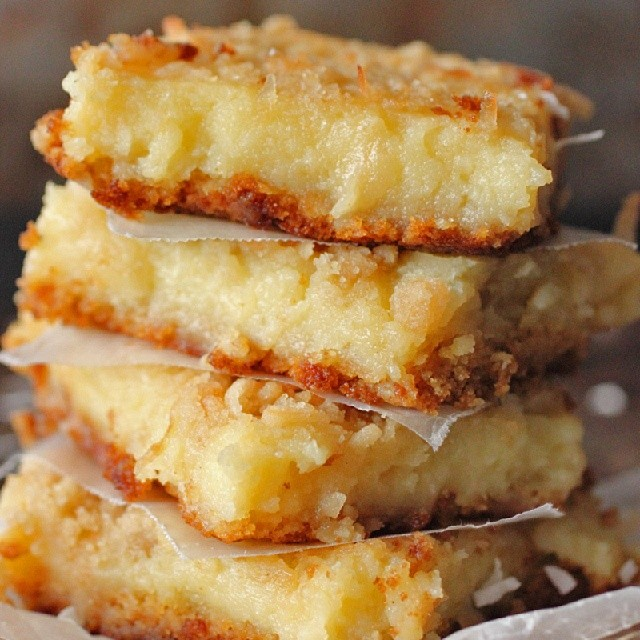 Lemon Coconut Gooey Butter Bars. Link in the profile. #ontheblogtoday #ontheblog #foodies #foodphotography #foodie #foodpix #foodgasm #foodforfoodies #foodlovers #food #foodblogger #foodporn #tagstagram #instafood #instafoodies #instalike #like4alike #getinmybelly #yummy #yum #butter #desserts #nomnom #ooeygooey #ooey #gooey #photograzing #omg