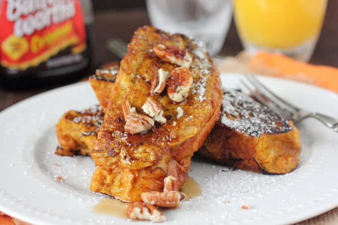 Brioche Pumpkin French Toast