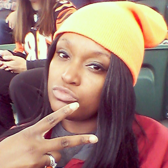 2nd half. Come on Bengals! #wearecrds #letsroar #selfie