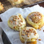cinnamon rolls with glaze