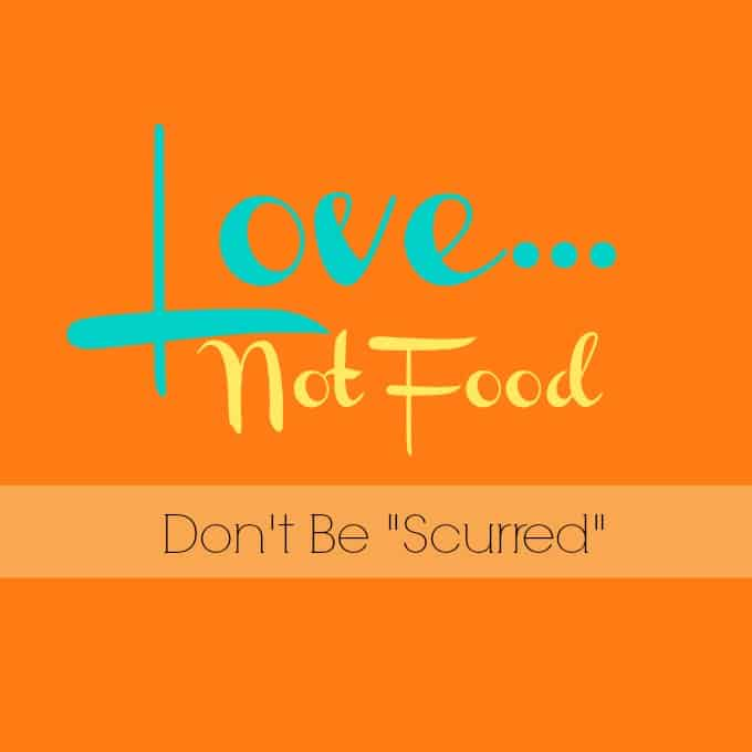 "Don't Be ""Scurred"""