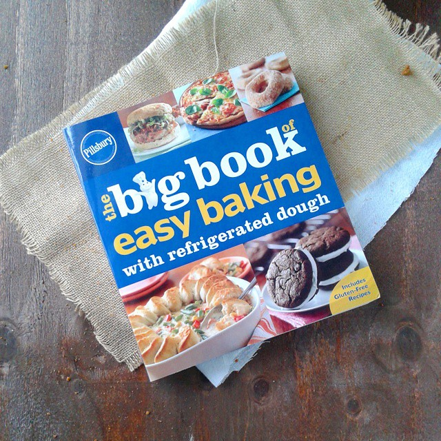 I got this book from @pillsbury today.  Pleasant surprise. #pillsburyideas #cookbook #cookbooks #ilovecookbooks
