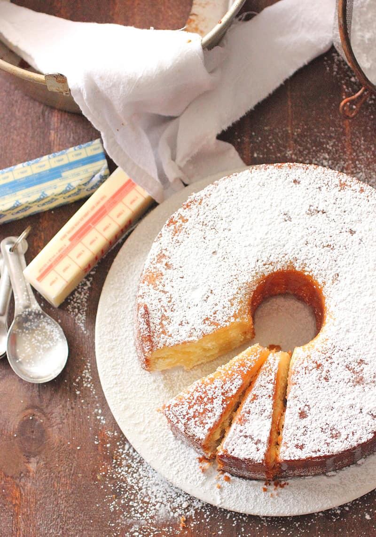 Butter Pound Cake Brown Sugar