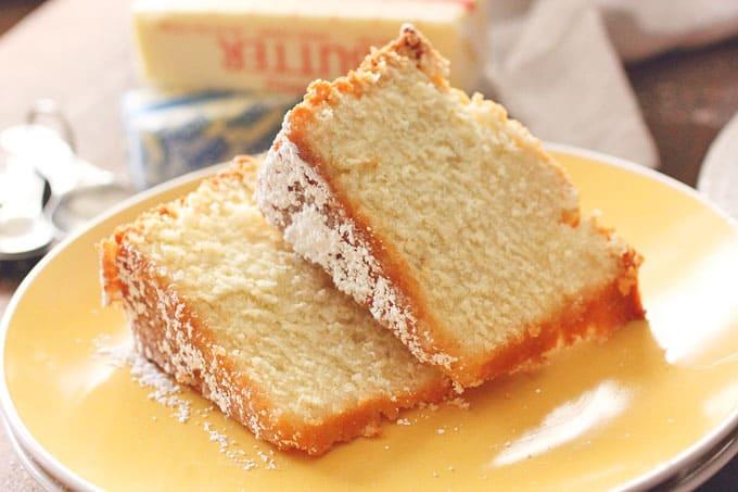 Butter Pound Cake | Brown Sugar