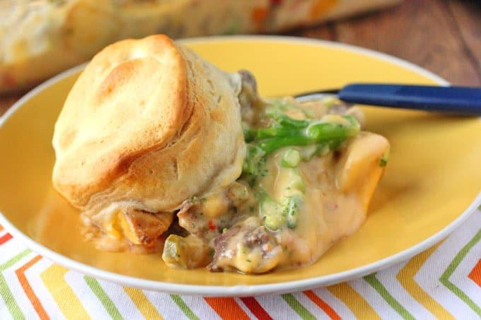 Cheest Steak and Potato Casserole