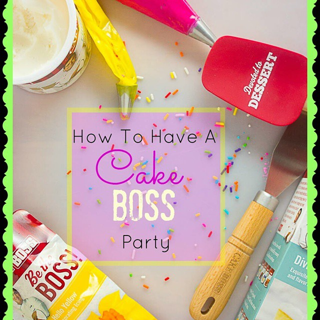 Have a party like a boss. A Cake Boss that is. Read all about it on my blog.  Link in profile. #cakebossparty #sponsored #IC