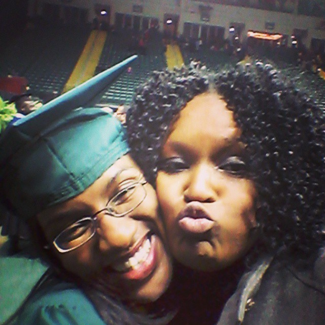 Graduation Selfie. Congrats Day! #wrightstate # graduation #wsu