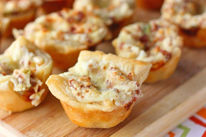Bacon and Jalapeno Puff Pastry Bites