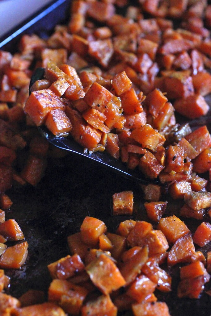 Roasted Sweet Potato Paleo Breakfast Hash