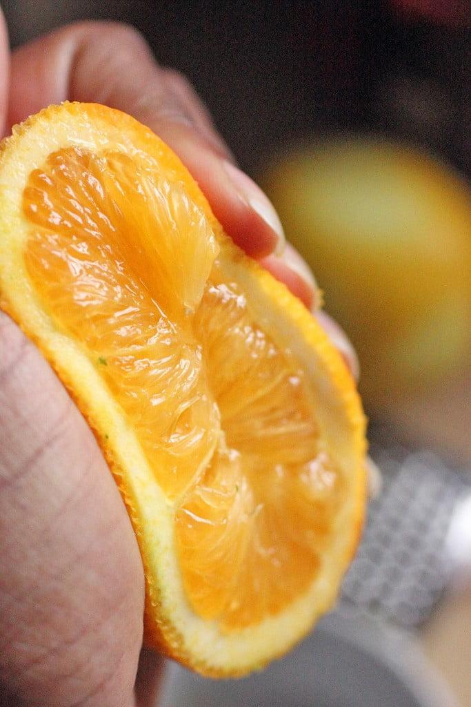 Citrus Basil Scones