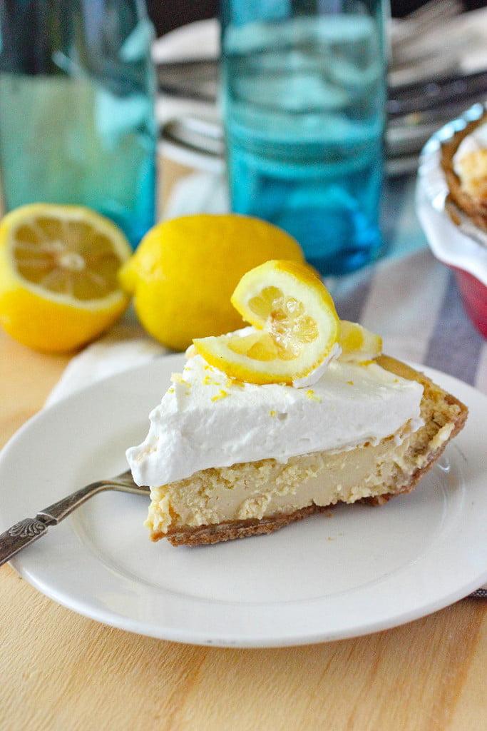 Lemonade Ice Box Pie