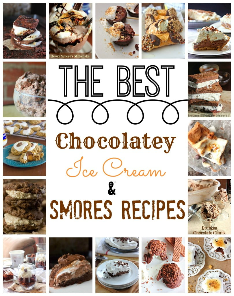 The Best Chocolatey Smore's and Ice Cream Recipes