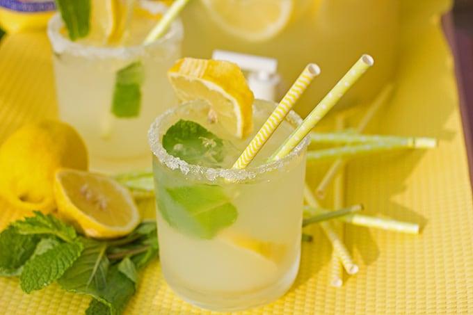 Lemon Mint 'Mock Margaritas' & SPLENDA Summertime Sweet-Life