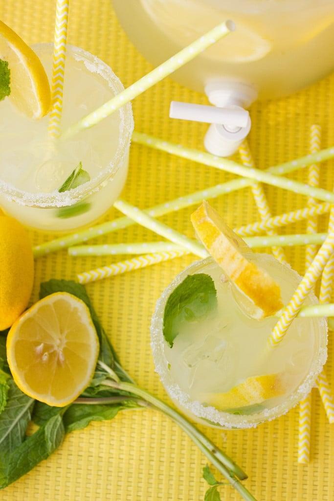 Lemon Mint 'Mock Margaritas'