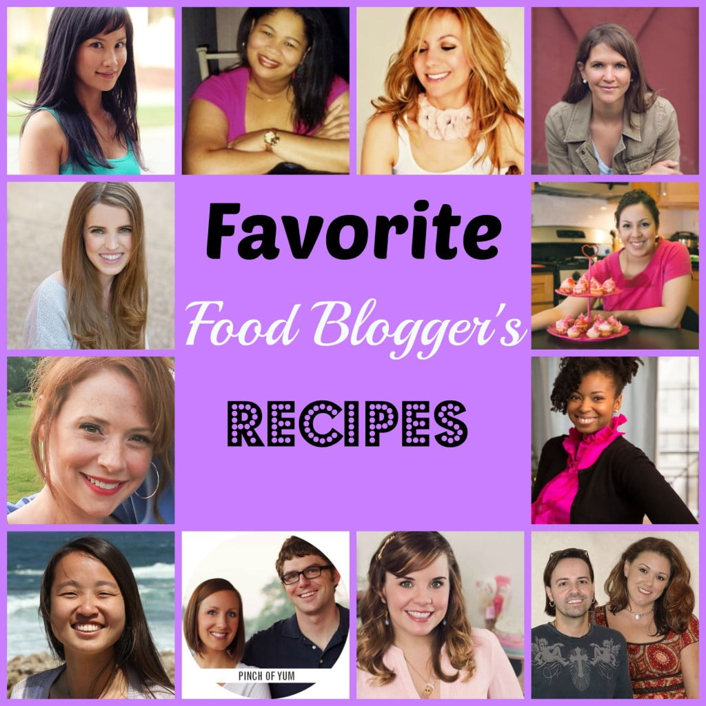 food blogger collage