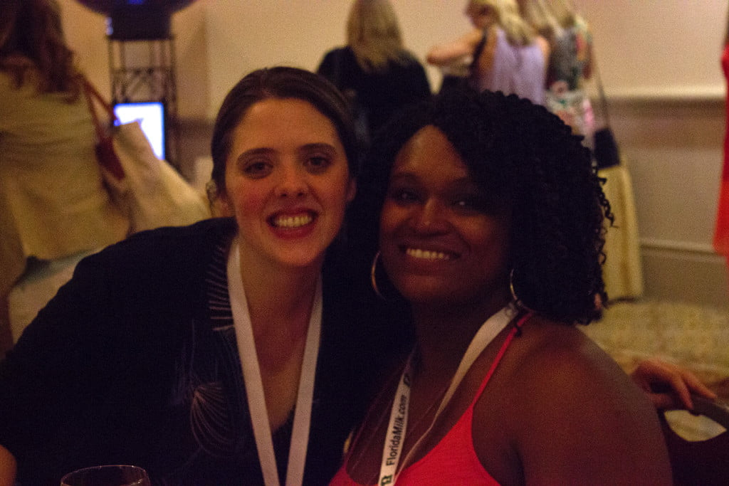 Me and my food blogging partner Hillary from Chicory Recipes