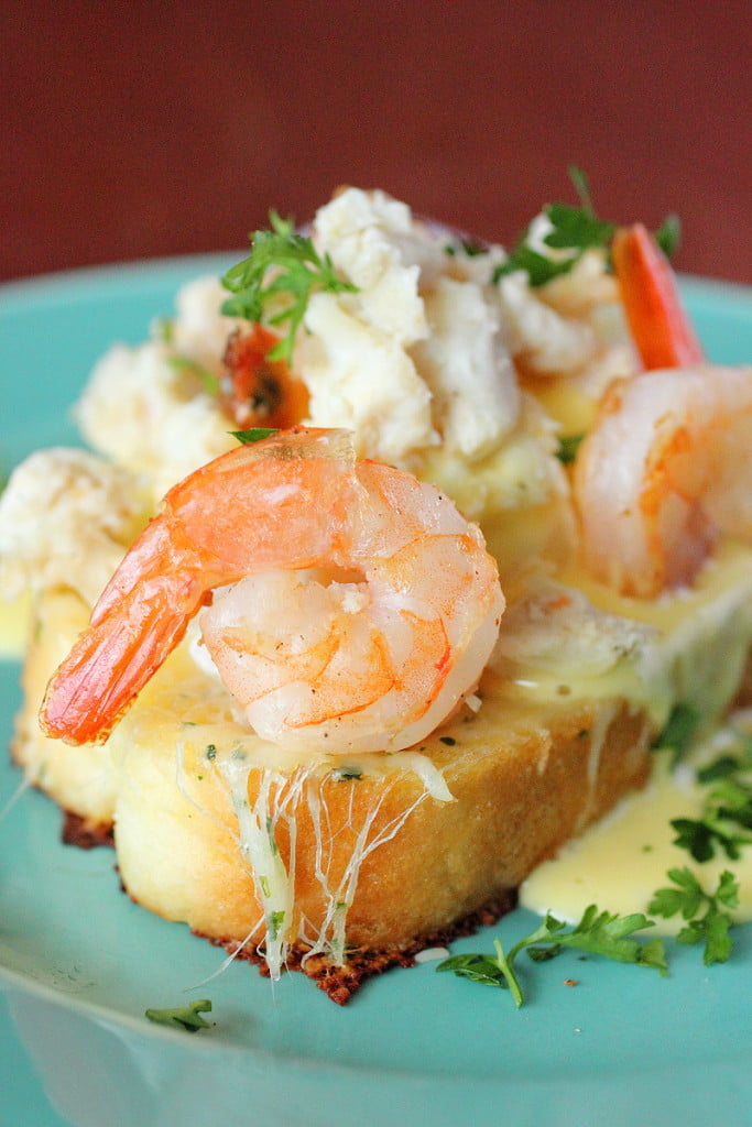 Seafood Eggs Benedict & E-Book | Brown Sugar
