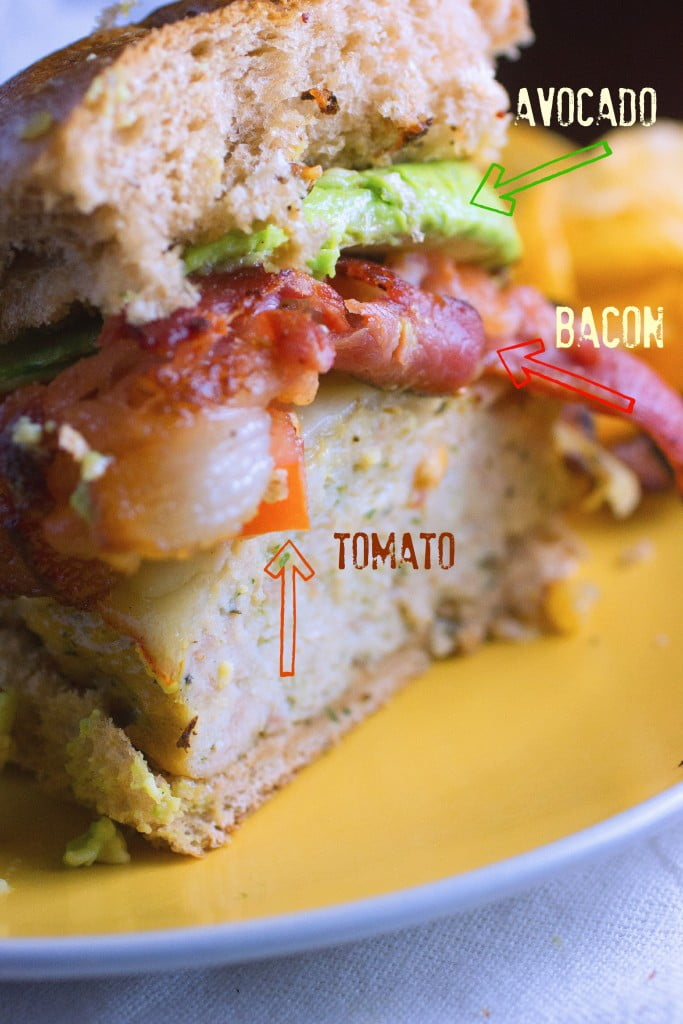Chicken Burger Recipe   California Style
